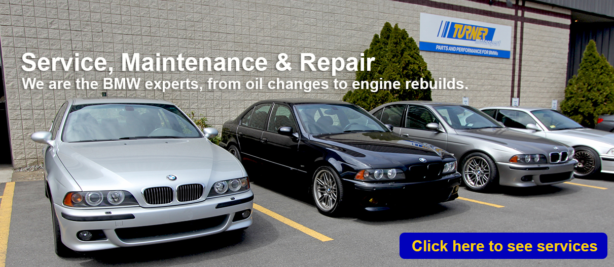 BMW Service, Repair, and Maintenance