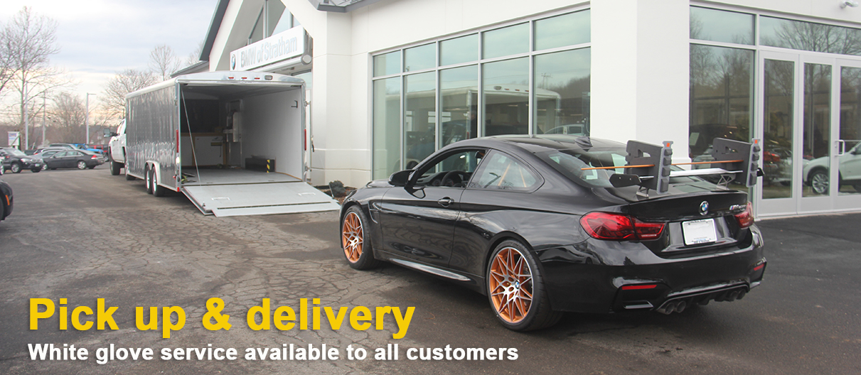 bmw transport pick up and delivery