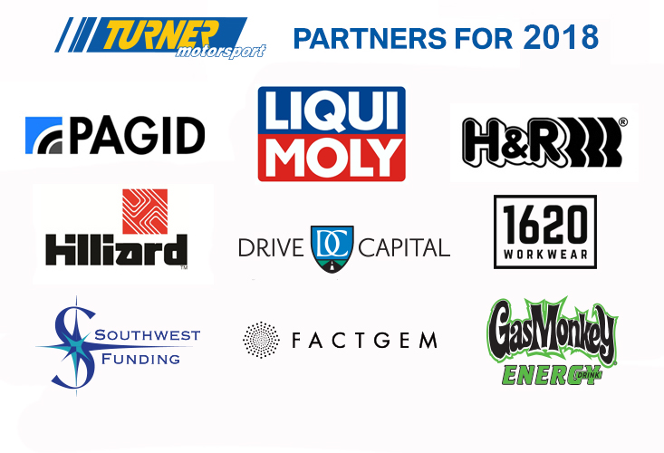 Turner Motorsport Race Partners 2017