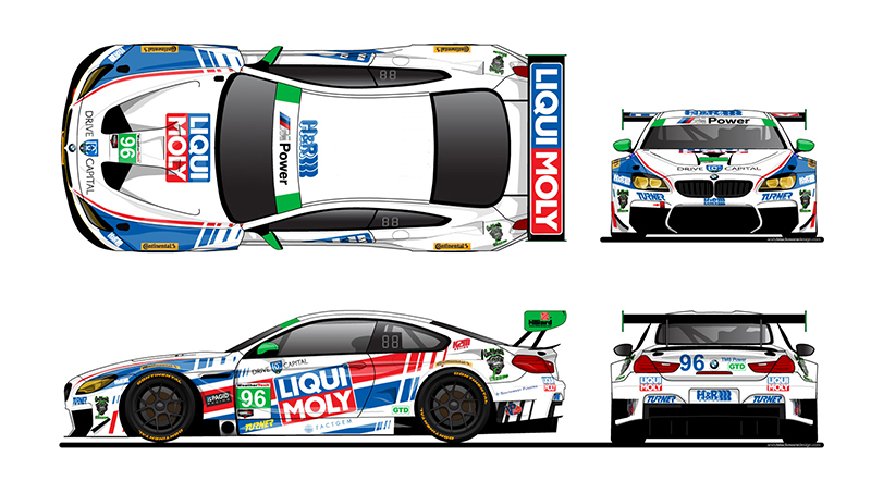 New Turner Livery For Rolex 24 At Daytona