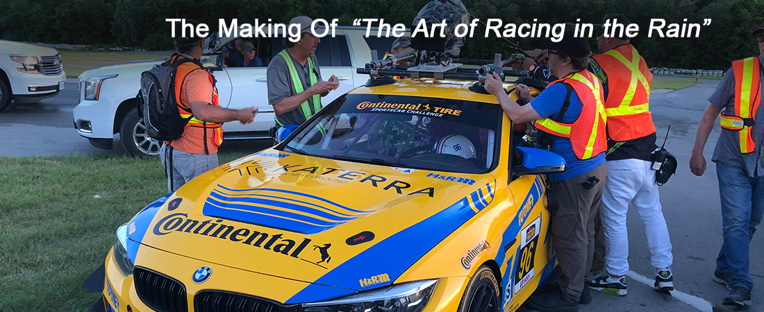 The Art Of Racing In The Rain Movie Turner Motorsport Bmw Race Team